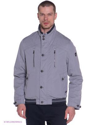 Куртка Gate One. Цвет: серый, черный