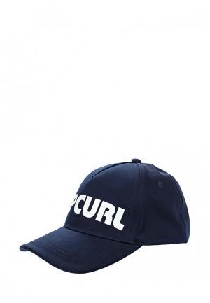 Бейсболка Rip Curl. Цвет: синий