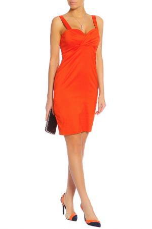 Платье Caractere. Цвет: оранжевый