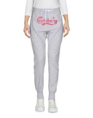 Повседневные брюки CARLSBERG. Цвет: серый