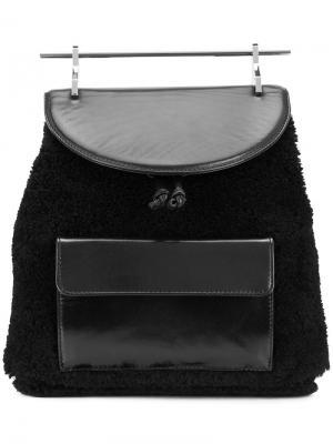 Рюкзак M009 M2malletier. Цвет: чёрный
