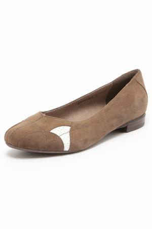 Туфли AMATO. Цвет: серый