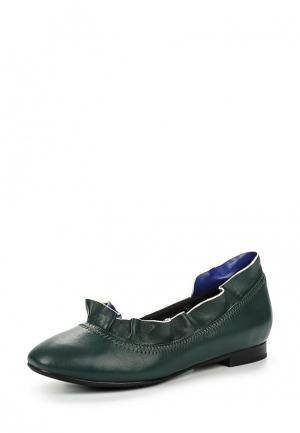 Туфли Mallanee. Цвет: зеленый