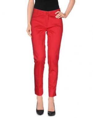 Повседневные брюки KATE. Цвет: красный