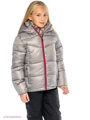 Куртка Sanetta. Цвет: серый