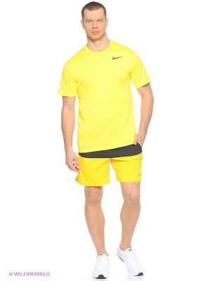 Шорты 7 DISTANCE SHORT (SP15) Nike. Цвет: черный