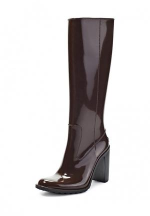 Резиновые сапоги Boomboots. Цвет: коричневый