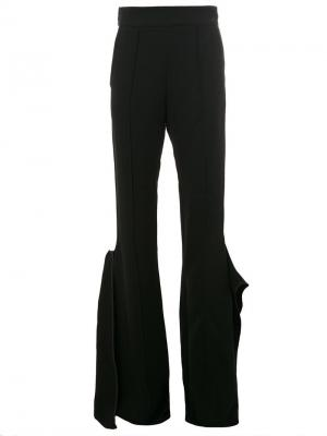 Flared trousers Maticevski. Цвет: чёрный