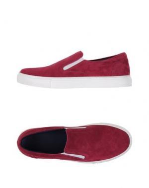 Низкие кеды и кроссовки FABIANO RICCI. Цвет: пурпурный