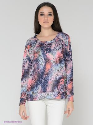 Джемпер Vero moda. Цвет: синий, розовый