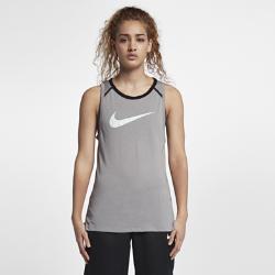 Женская баскетбольная майка  Breathe Elite Nike. Цвет: серый
