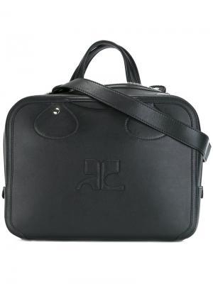 Средняя сумка-тоут Courrèges. Цвет: чёрный