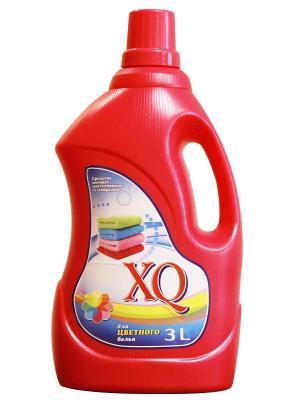 Средство мощее синтетическое гелеобразное дл цветного бель, 3 л XQ. Цвет: прозрачный