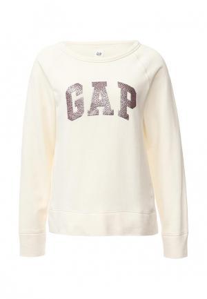 Свитшот Gap. Цвет: бежевый