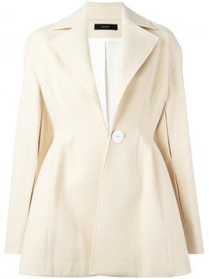 Расклешенный пиджак Ellery. Цвет: телесный
