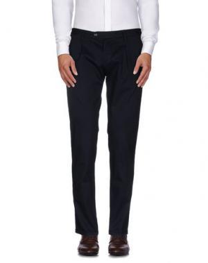 Повседневные брюки ROBERTO PEPE. Цвет: темно-синий