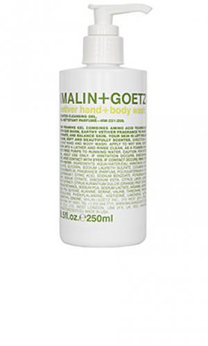Гель-мыло для рук и тела ветивер MALIN+GOETZ. Цвет: beauty: na