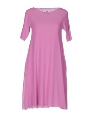 Короткое платье ALMERIA. Цвет: светло-фиолетовый
