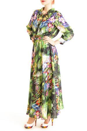 Платье MoNaMod. Цвет: мультицвет
