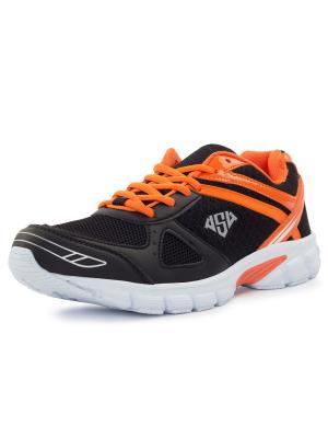 Кроссовки Fred AS4. Цвет: черный, оранжевый