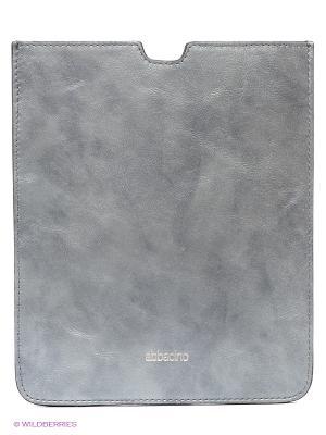 Чехол для iPad Abbacino. Цвет: серый, серебристый