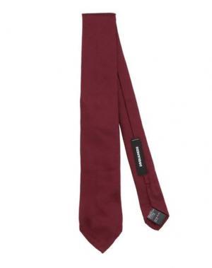 Галстук DSQUARED2. Цвет: красно-коричневый