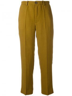 Укороченные брюки Noa Erika Cavallini. Цвет: зелёный