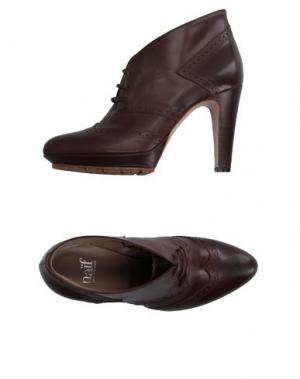Обувь на шнурках NAIF. Цвет: темно-коричневый