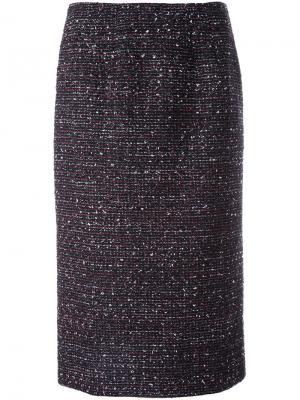 Классическая юбка-карандаш Altuzarra. Цвет: чёрный
