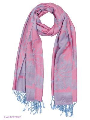 Платок Shapkoff. Цвет: розовый, голубой