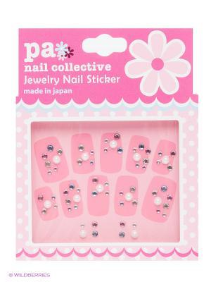 Наклейки для ногтевого дизайна Дождливый день PA NAIL COLLECTIVE Jewelry Sticker Rainy Day presents since 2004 ETERNAL. Цвет: серебристый