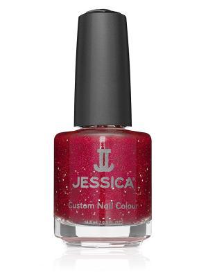 Лак для ногтей  #743 Just Married, 14,8 мл JESSICA. Цвет: красный