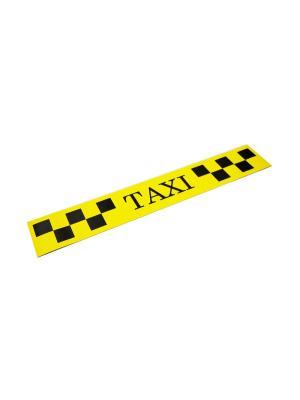 Такси-Магнит Для Притяжения Клиентов, 900Х60, Белый Оранжевый Слоник. Цвет: белый