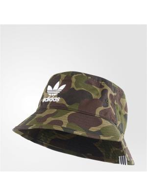 Панама BUCKET HAT CAMO Adidas. Цвет: хаки