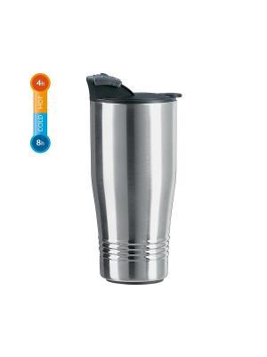 Термокружка EMSA SENATOR TRAVEL CUP 0.4л нерж. Цвет: серый