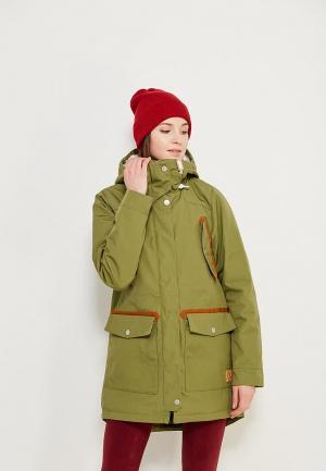 Куртка утепленная Wear Colour. Цвет: хаки