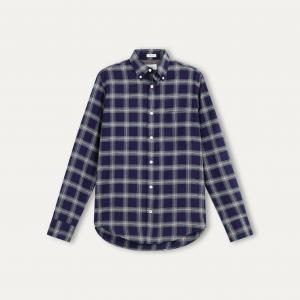 Рубашка мужская HARTFORD. Цвет: синий
