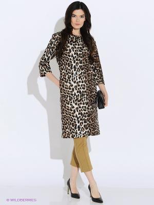 Пальто Культ платья BRACEGIRDLE. Цвет: коричневый