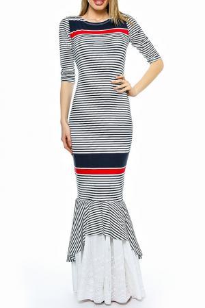 Платье Ki6 collection. Цвет: multicolor