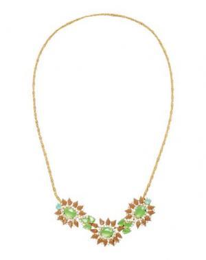 Ожерелье LISA C BIJOUX. Цвет: светло-зеленый
