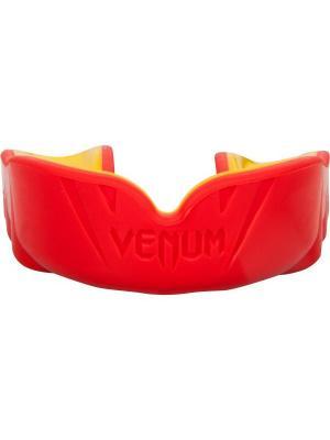 Капа боксерская Venum Challenger Mouthguard - Red/Yellow. Цвет: желтый, красный