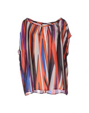 Pубашка ATTIC AND BARN. Цвет: розовато-лиловый