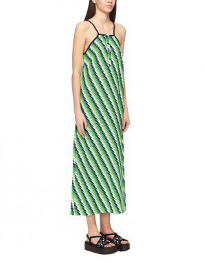 Платье с принтом House of Holland. Цвет: зеленый