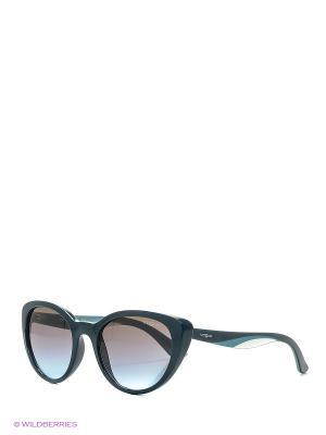 Очки солнцезащитные Vogue. Цвет: зеленый