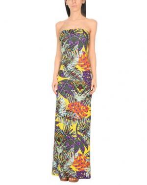 Пляжное платье MISS BIKINI. Цвет: желтый
