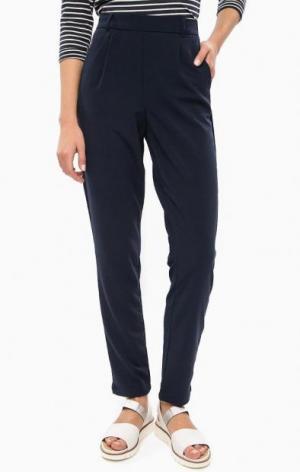 Зауженные брюки синего цвета LERROS. Цвет: синий