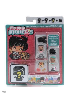 Набор из трех фигурок My Mini Mixiqes Mattel. Цвет: зеленый, коричневый, бежевый