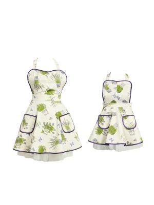 Набор Fresca Design. Цвет: зеленый, молочный, сиреневый