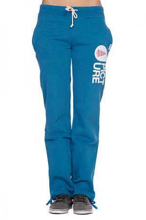 Штаны прямые женские  Cocoon Women Pants Blue Petrol Picture Organic. Цвет: голубой