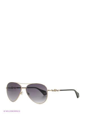Солнцезащитные очки VW 904S 01 Vivienne Westwood. Цвет: черный, золотистый